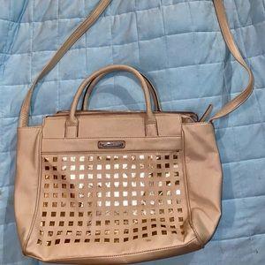 Nine West beige/tan shoulder strap purse